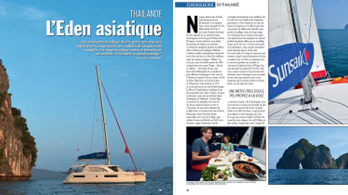 Multicoques Magazine - septembre 2018 - Thaïlande, l'eden asiatique