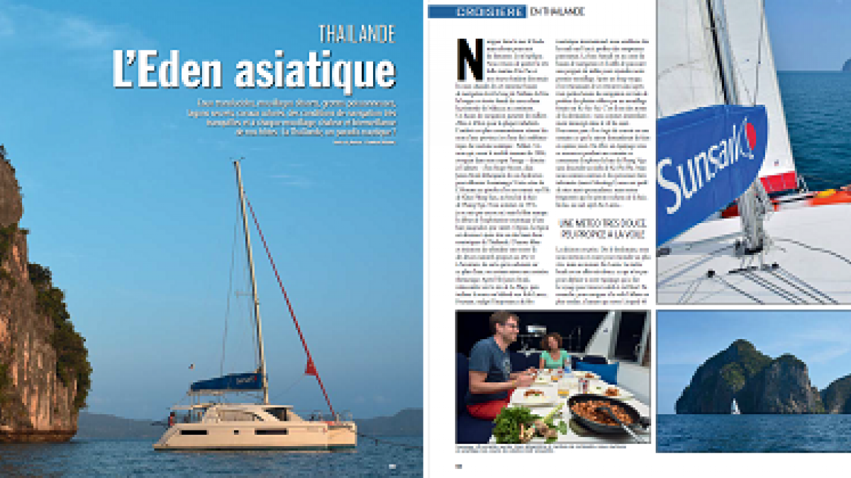 Multihulls Magazine - September 2018 - Thailand, the Asian eden