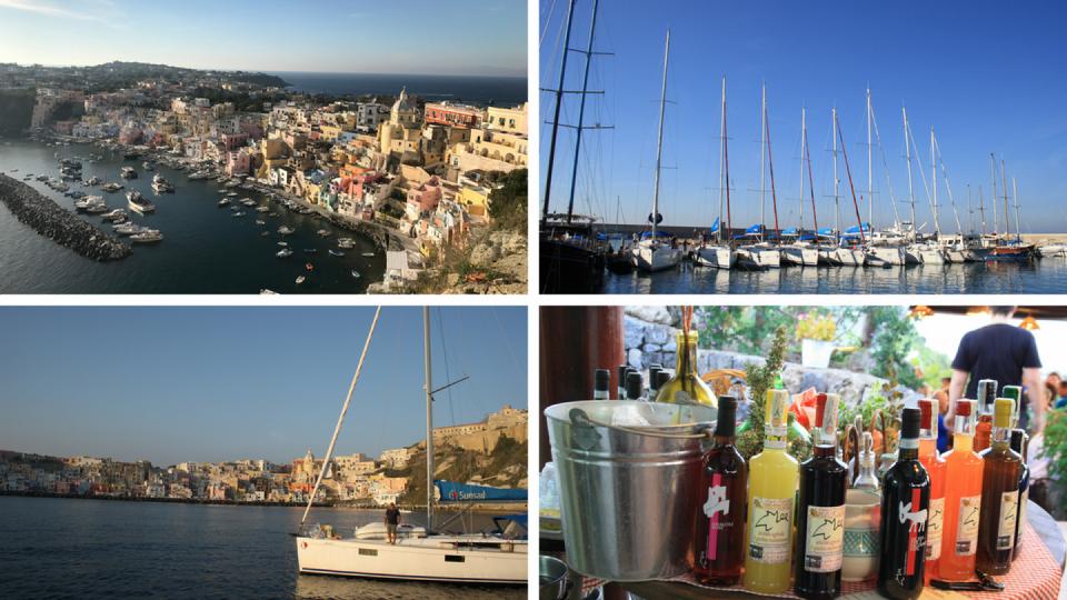Procida Flottille Vins et Cuisine