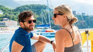 Couple Enjoying Corfu Island on a Sunsail Catamaran