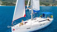 People Relaxing on Sunsail Yachts in Corfu Greece