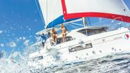 People sailing on Sunsail yacht