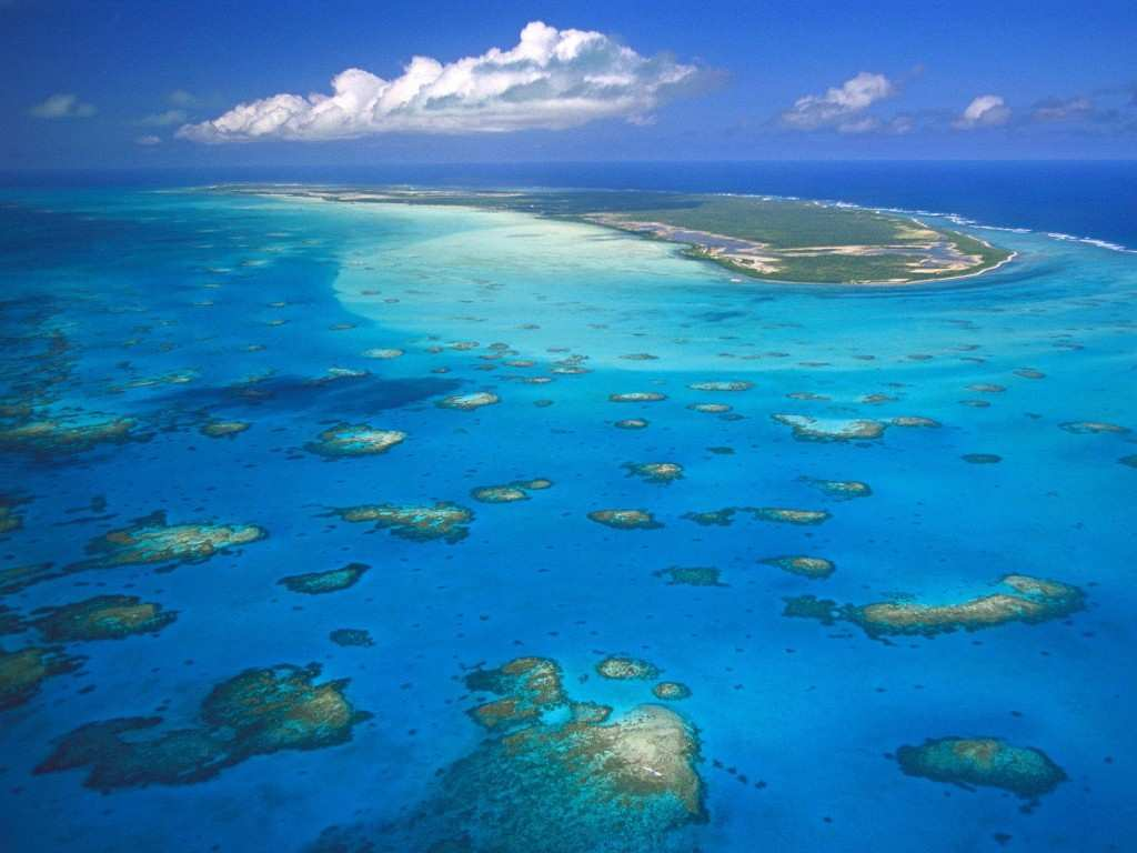 Atoll corallien Anegada Iles verges britanniques