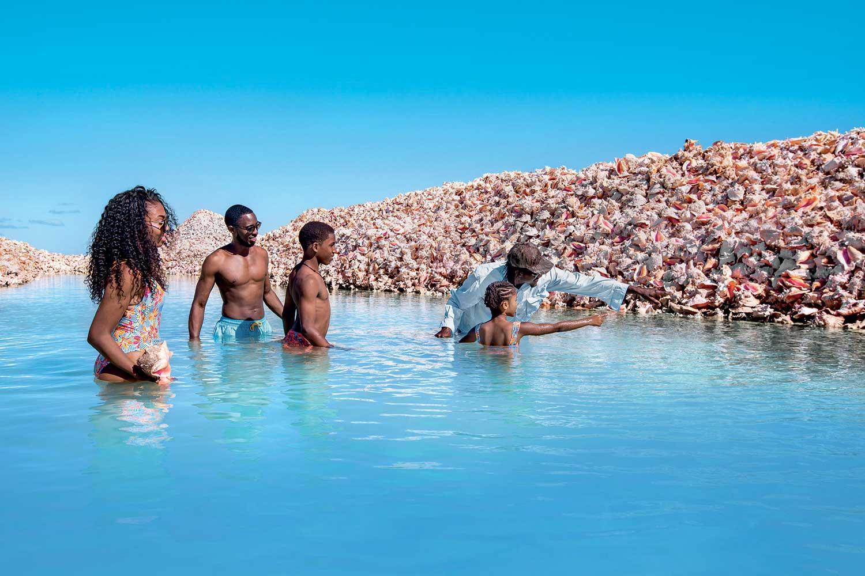 Conch Shell Mound Anegada Iles Vierges britanniques