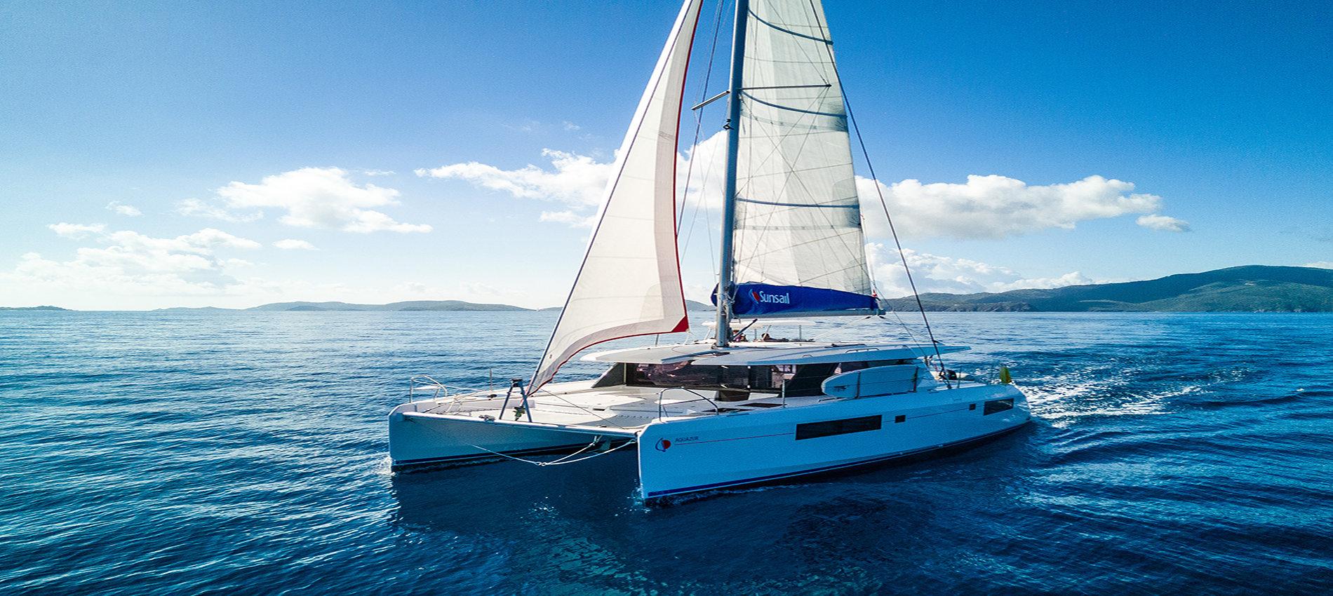 Sunsail catamaran